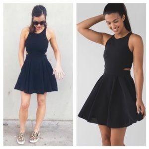 Lululemon Away Dress Black Size 4 EUC